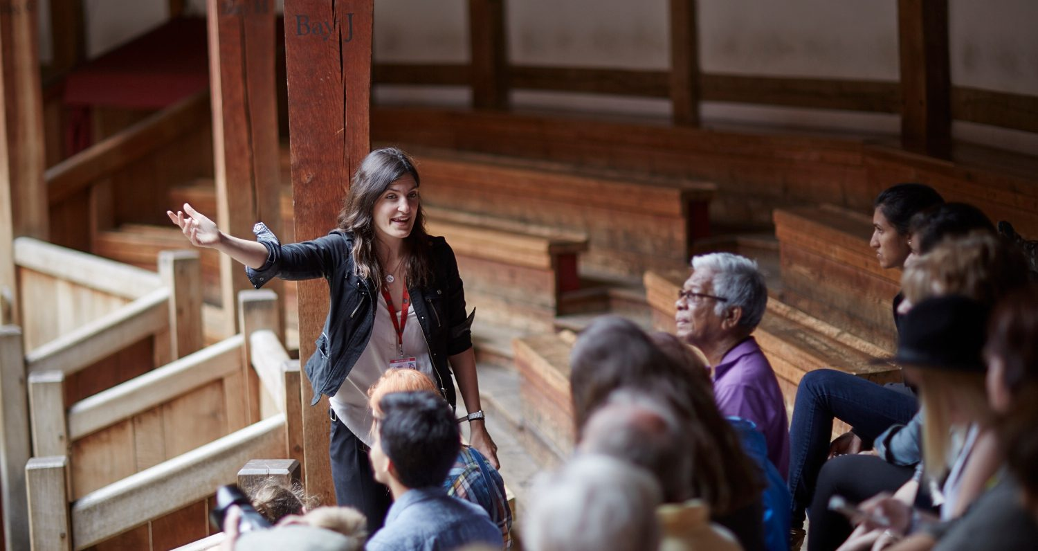 Photo of a Globe Theatre Guided Tour